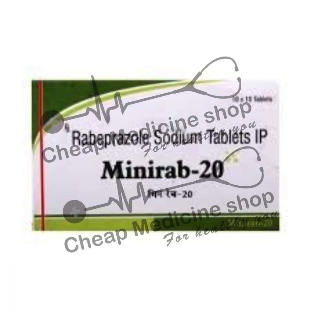 Buy Minirab 20 Tablet