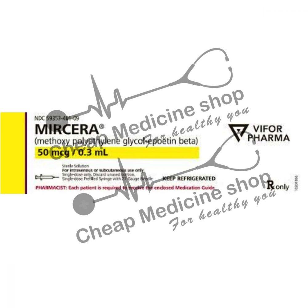 Buy Mircera 50 mcg 1ml Injection