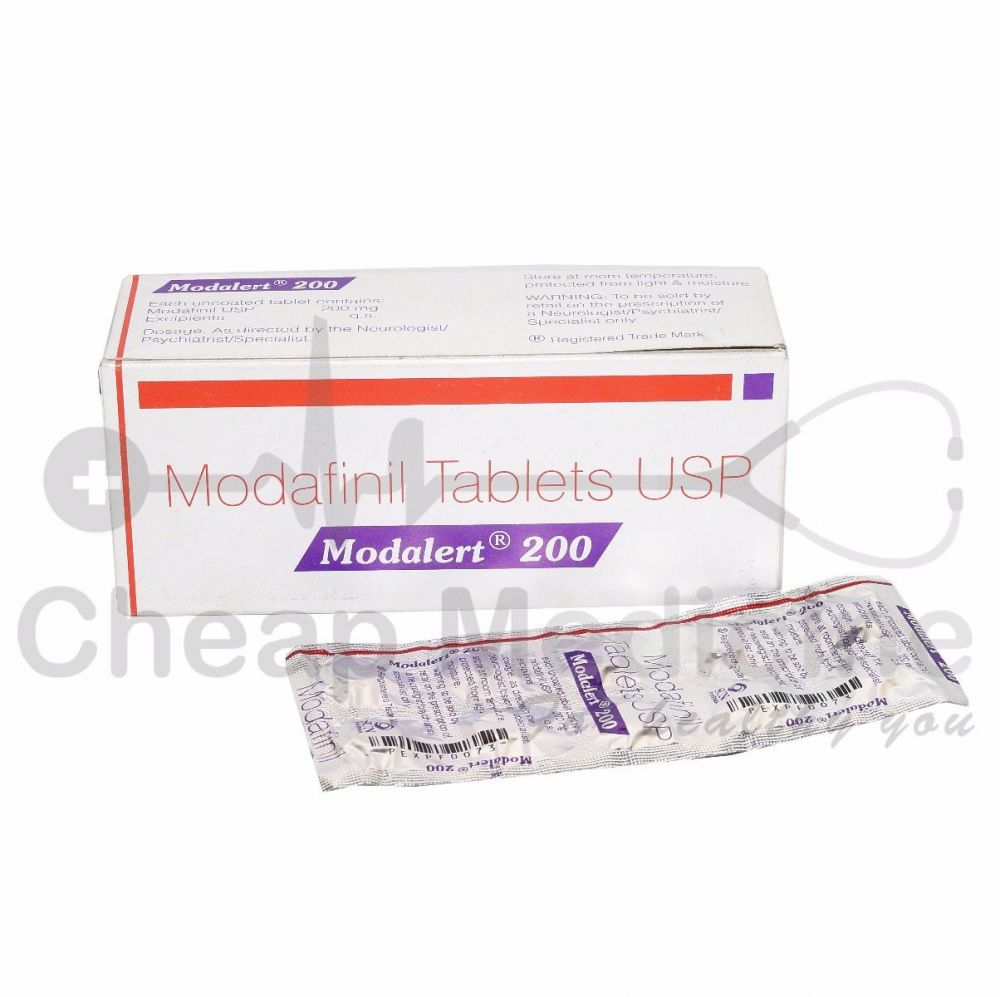 Modalert 200Mg with Modafinil Front View