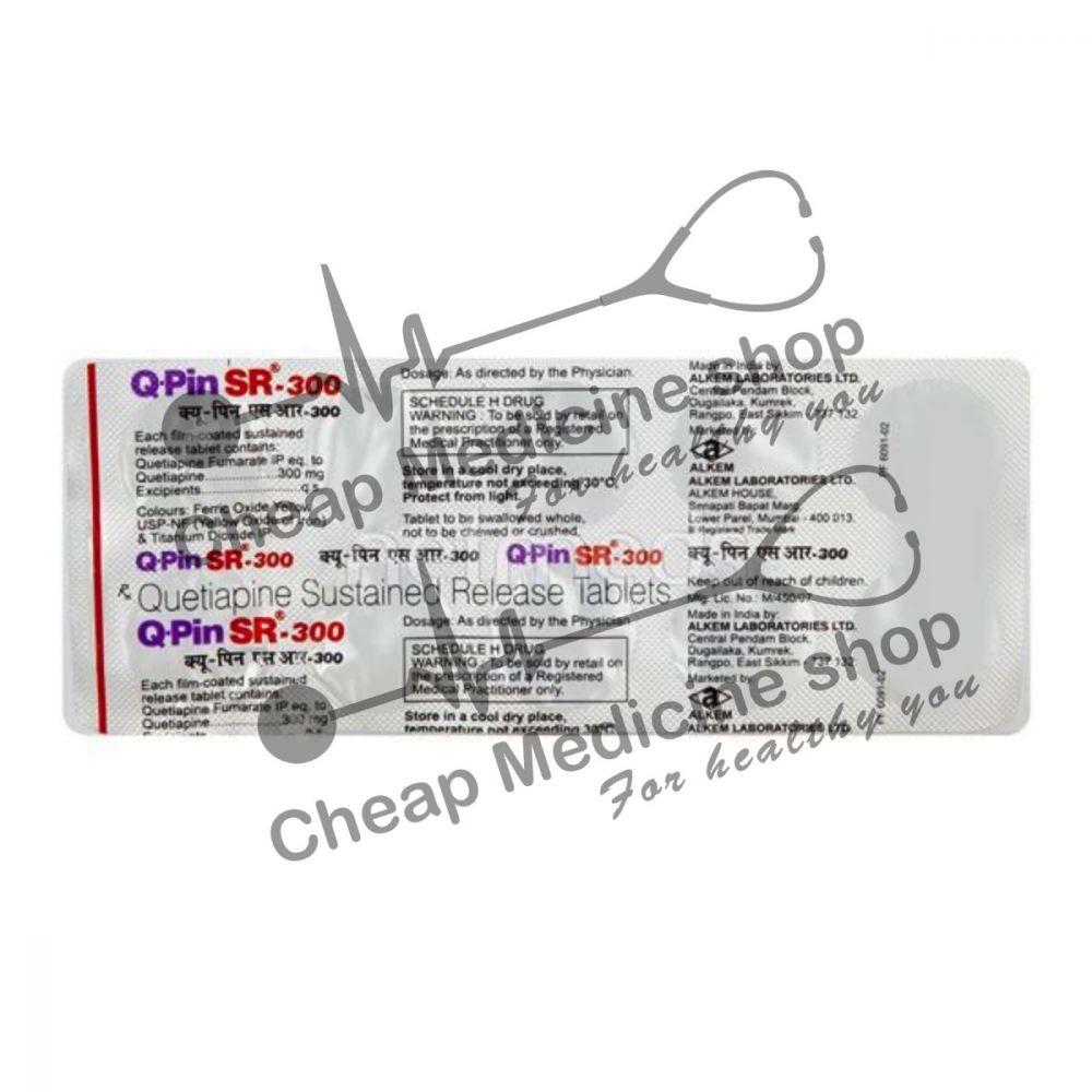 Buy Q-Pin 300 Mg Tablet SR