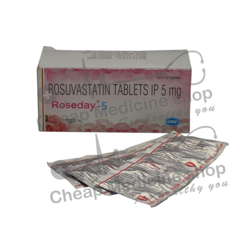 Roseday 5 Mg, Crestor, Rosuvastatin
