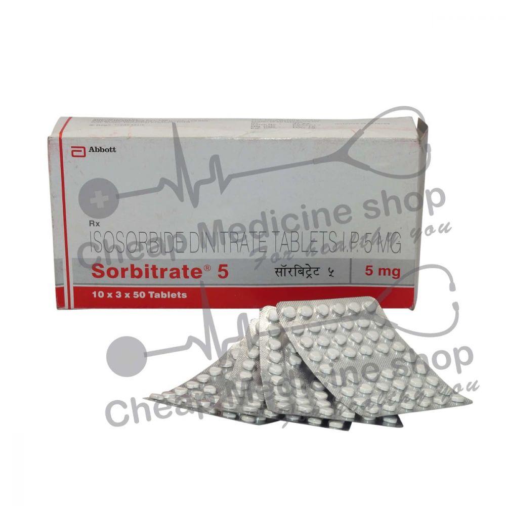 Sorbitrate 5 Mg, Isordil, Isosorbide