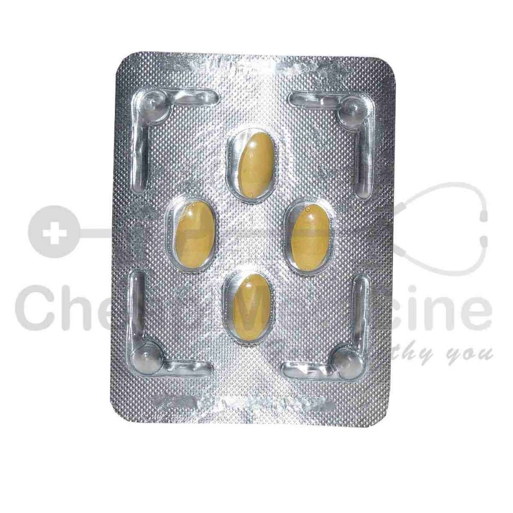 Tadalis sx 20 is 20mg with Rx Tadalafil Front View