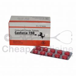 Cenforce 150 Mg, Sildenafil Citrate Front View