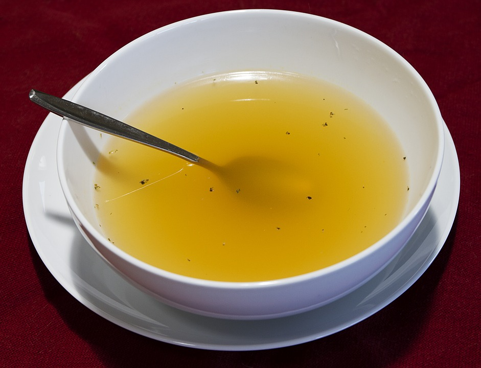 An Antiquated Diet made of Chicken Broth