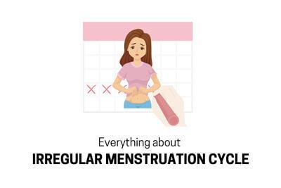 Irregular menstrual cycle
