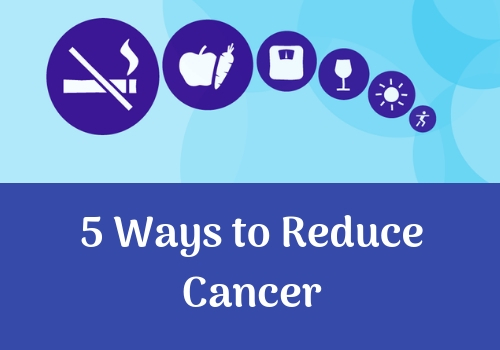 5 Ways To Reduce The Risk Of Developing Cancer