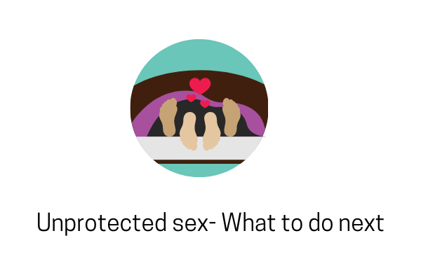 Did You Have Unprotected Sex? What Next?