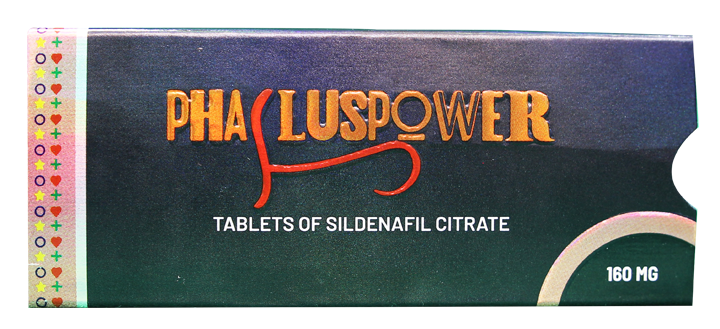 What Makes Phallus Power 160 mg (Sildenafil Citrate) The Best ED Pill?