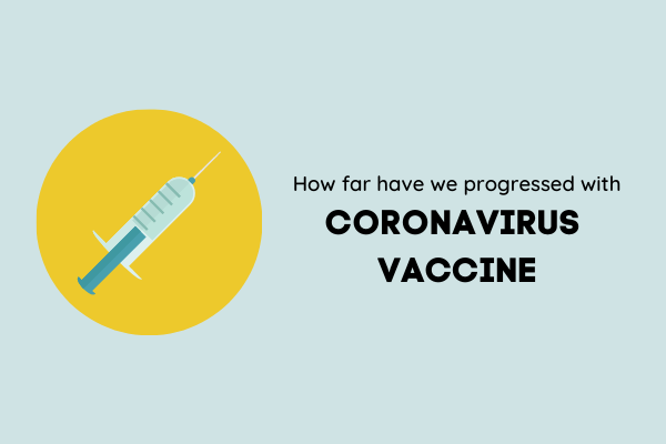 Progress of Coronavirus Vaccine