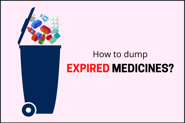 Do you know how should the expired medicines be disposed?