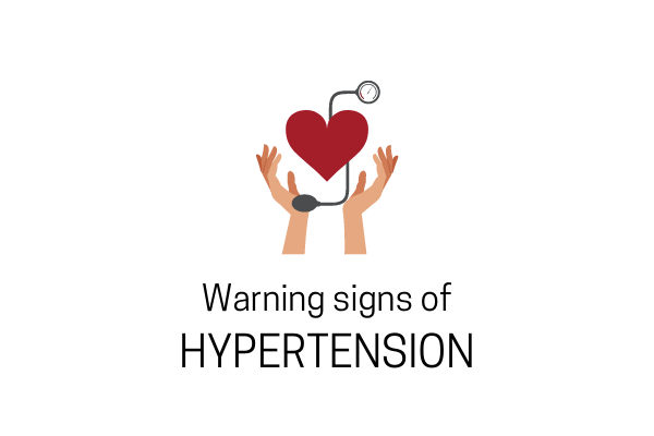 Warning Signs Of Hypertension- Take A Note