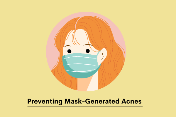preventing mask-generated acnes