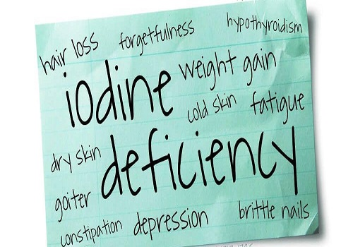 Iodine Deficiency is Harmful For Health